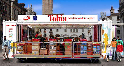 Tobia in piazza